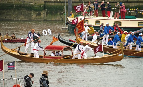 Nicolotta in Thames Diamond Jubilee Pageant on 3.06.12.jpg